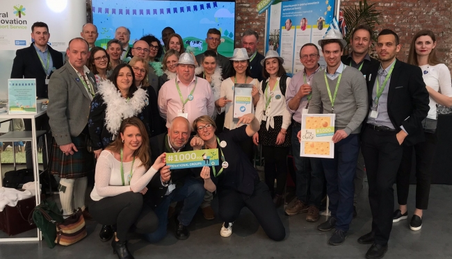 EIP-AGRI network celebrates 1000 Operational Groups!